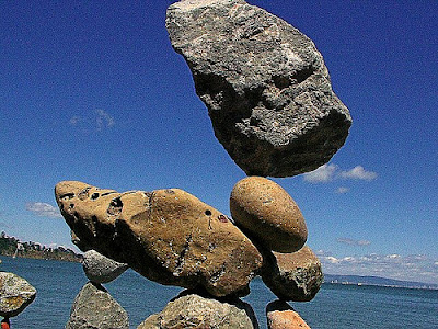 Rock Balancing 8