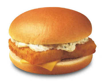 McDonald's Fillet o Fish Sandwich 1