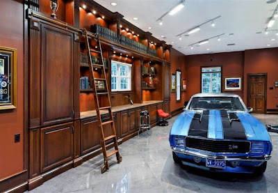 Incredible Hidden Car Garage Designs (30) 16