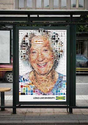 Creative Advertising Billboards and Posters Created With Multiple Pieces (45) 19