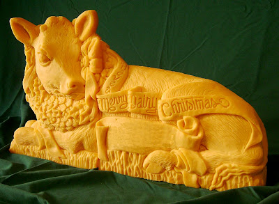11 Creative Cheese Sculptures (11) 9