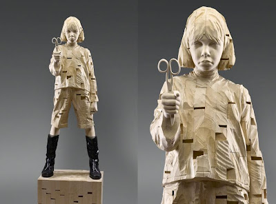 Impressive Wood Sculptures by Gehard Demetz (9) 4