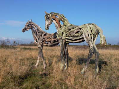 Driftwood Horse Art (14) 10