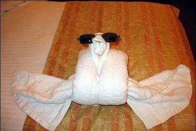 Cute Folded Towel Animals (7) 3