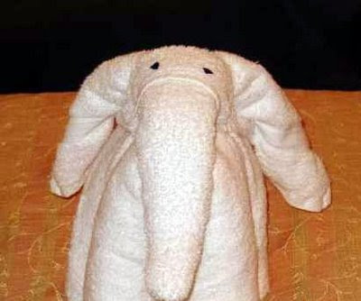 Cute Folded Towel Animals (7) 5