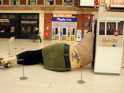 Creative Statues Promoting London Ink (8) 7