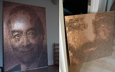 Portraits Made Of Pennies (2) 2