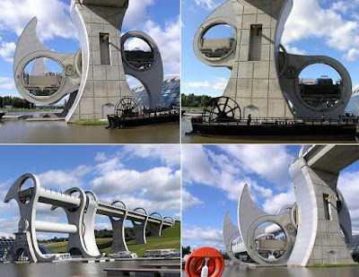 The Only Rotating Boatlift In The World - The Falkirk Wheel (11) 7