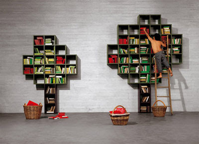 Creative and Stylish Bookshelf and Bookcase Designs- Part: 3 (9) 7