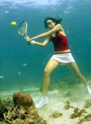 Underwater tennis (4) 3
