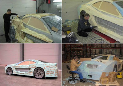 Making Of The Car From Nothing (7) 3