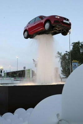 Car fountain (3) 2