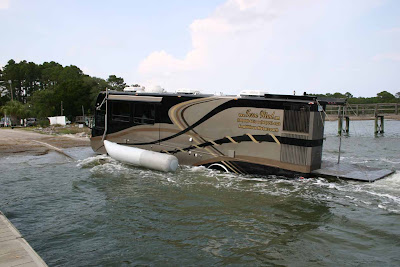 Luxurious Amphibious Motor Coach and Yacht (6) 6