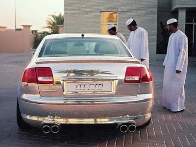 MTM's Audi A8 D3 polished (3) 2