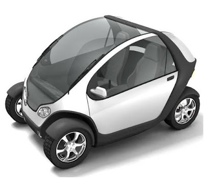 MIT's Foldable City Car