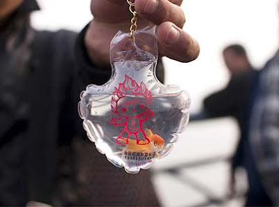 Goldfish Keychains with Live Goldfish