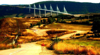 The Tallest Vehicular Bridge In The World - The Millau Viaduct (11) 2
