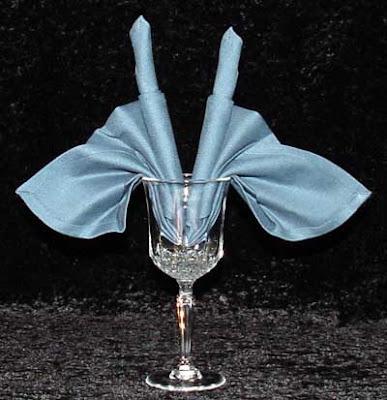 Napkin Folding Art