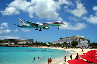 Maho Beach And Its Low Flying Planes (10) 3