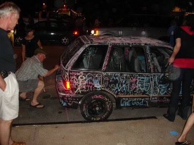 Chalkboard Art Car (3) 2
