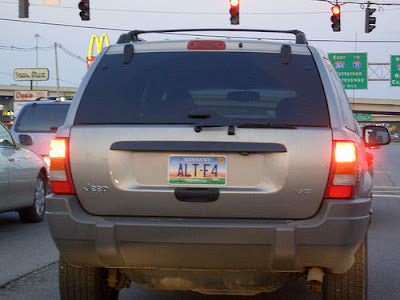 20 Cool and Clever License Plates (20) 12