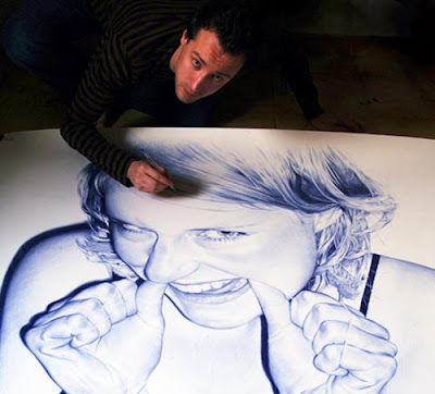 Incredible Ballpoint Pen Art (5) 5