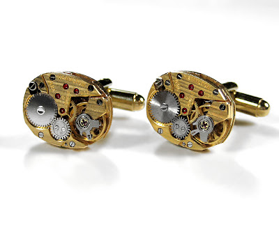 Handmade Luxury Designer Watch Cufflinks (9)  2