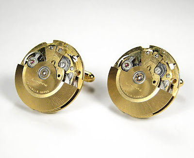 Handmade Luxury Designer Watch Cufflinks (9)  3