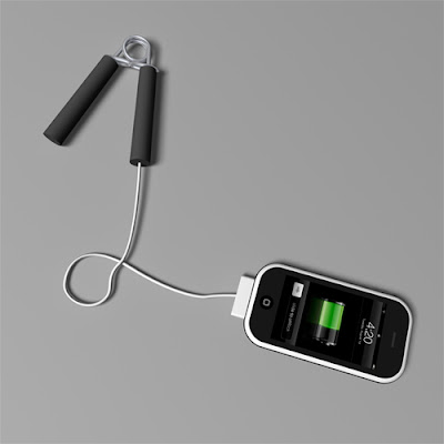 Hand Grip Charger To Power Your phone (2) 1