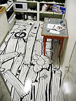 14 Creative and Cool Flooring Designs (20) 2