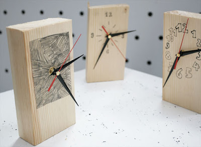 Log Clock (4) 3