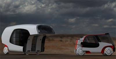 Combination of A Car and A Caravan (5) 2