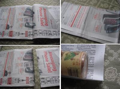 Creative and Cool Ways to Reuse Old Newspapers (30) 30