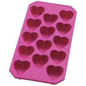 Heartshaped Ice Cube Tray