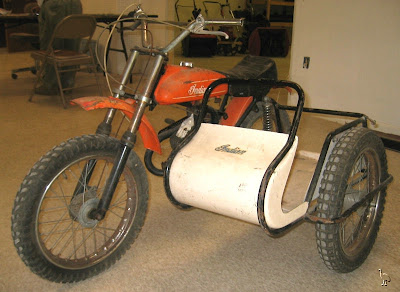 Italjet Indian 50cc with Sidecar