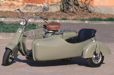 Lambretta With Sidecar