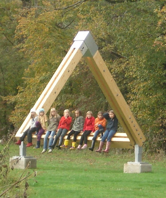 Impossible Triangle Sculpture, Gotschuchen, South Austria, Europe (2) 2