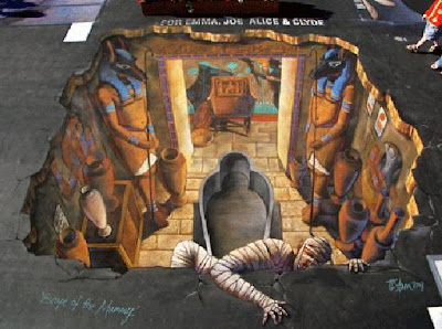 3D Anamorphic Street Paintings (5) 1