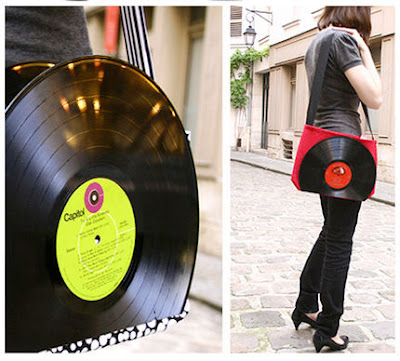 Creative and Cool Ways To Reuse Old Vinyl Records (50) 9