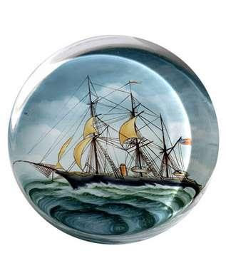Transatlantic Sail Paper Weights