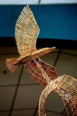 Toothpick Sculptures (21) 13