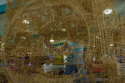 Toothpick Sculptures (21) 9