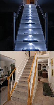 20 Creative and Modern Staircase Lighting Designs (20) 19
