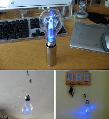 Creative and Cool Ways To Reuse Old Light Bulbs (30) 16
