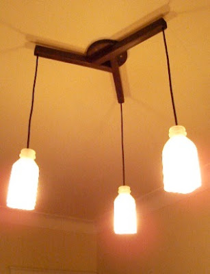 Creative Reused Lamps and Light Designs (40) 17