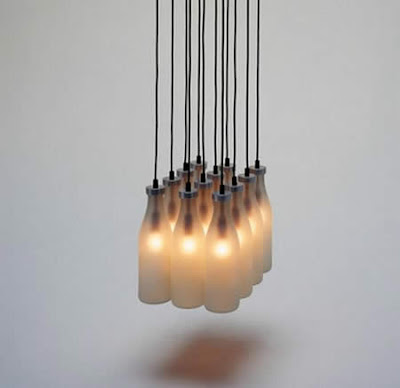 Fancy Creative Reused Lamps and Light Designs