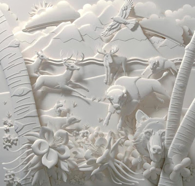 Paper Sculptures by Jeff Nishinaka (11) 8