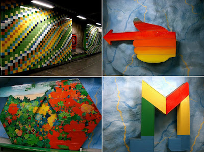Artistic and Creative Swedish Subway System (21) 11