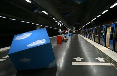 Artistic and Creative Swedish Subway System (21) 5