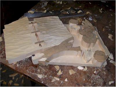 Creative One Block of Wood Sculptures (21) 18